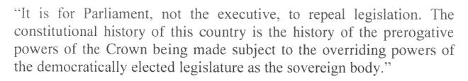 R v Secretary of State for the Home Department ex parte Fire Brigades Union [1995] 2 AC 513